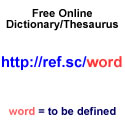 ref.sc dictionary thesaurus